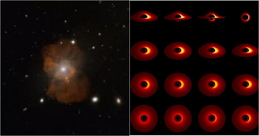 Pertama kali di dunia black hole terekam jelas, ini penampakannya