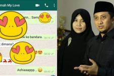 Unggahan chat mesra Yusuf Mansur ke istri ini bikin jomblo baper