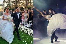 13 Momen pernikahan Kezia Toemion & Aditya Trihatmanto di Los Angeles