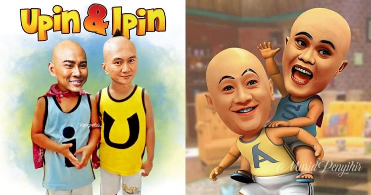 7 Foto Editan Lucu Seleb Jadi Karakter Upin Ipin Bikin Nyengir