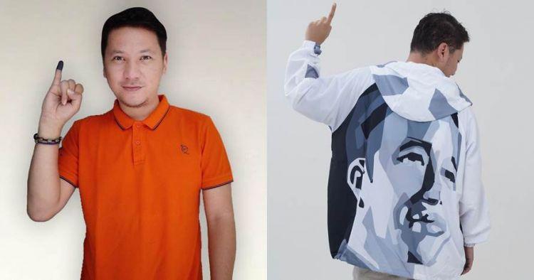 Gaya 10 seleb kompak berjaket Jokowi, ekspresikan pilihannya