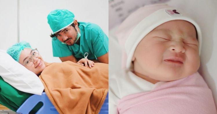 Lahirkan anak kedua, ini 7 momen kelahiran putri Aryani Fitriana