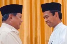 Detik-detik Prabowo menangis saat Ustaz Abdul Somad beri nasihat
