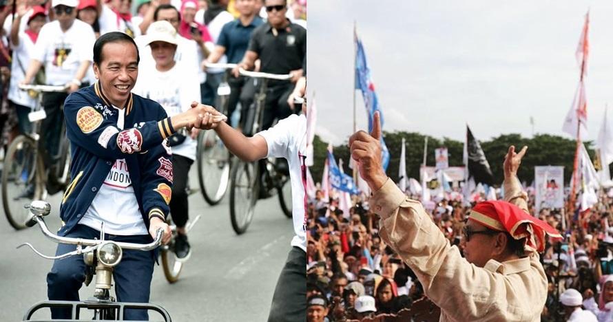 Survei terbaru SMRC, Jokowi 56,8 persen - Prabowo 37 persen