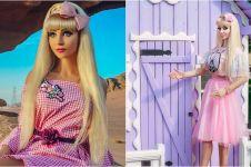 10 Potret Tatyana Tuzova, cewek yang menjelma jadi Barbie