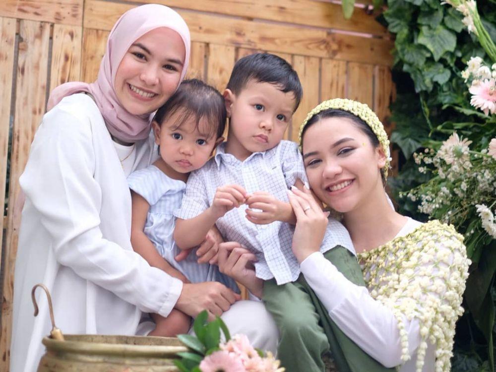 siraman Rifqa Malsyita adik Zaskia Mecca istimewa