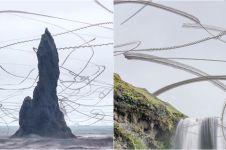 15 Foto formasi burung terbang ini bikin melongo, artsy banget