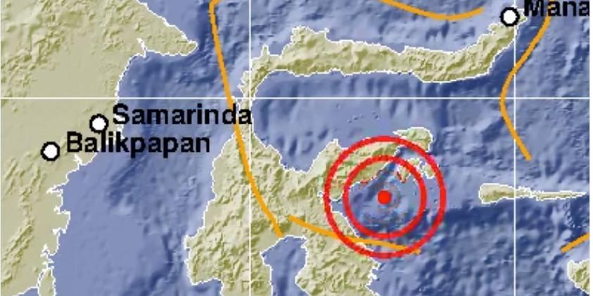 Peringatan dini tsunami akibat gempa 6,9 SR di Sulteng dicabut