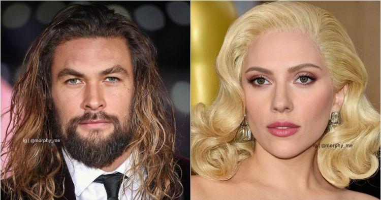 15 Editan foto gabungan wajah seleb Hollywood, kamu bisa kenali?