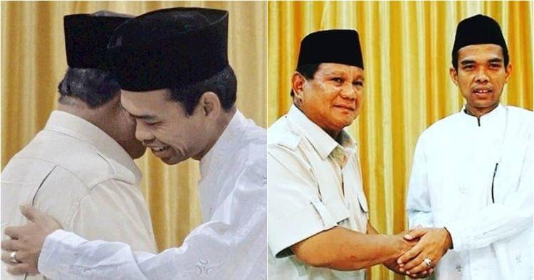 Perjalanan Ustaz Abdul Somad hingga putuskan mendukung Prabowo