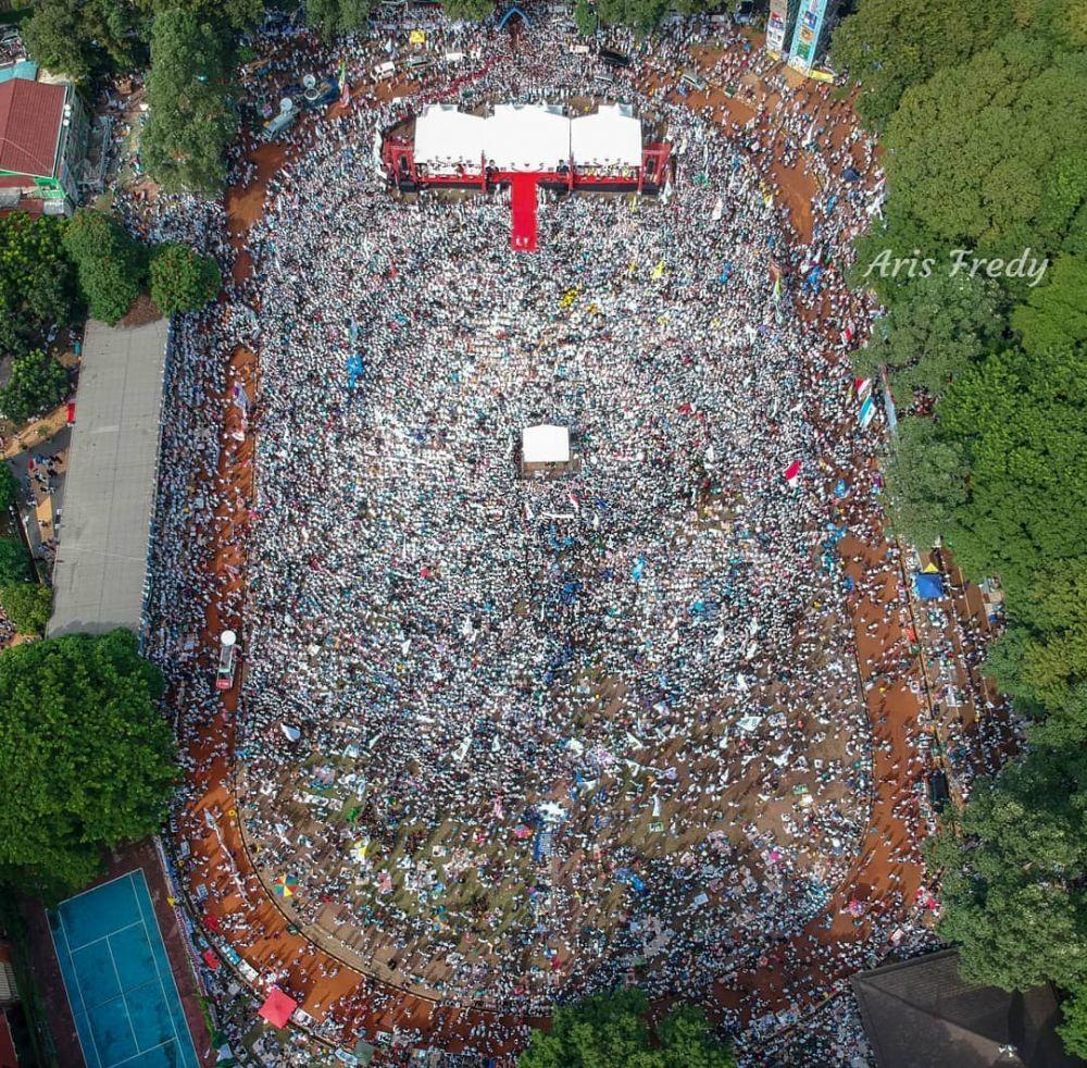 kampanye terakhir Prabowo Sandi © 2019 Istimewa