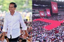 13 Potret Konser Putih Bersatu Bareng Jokowi, penuh keriuhan