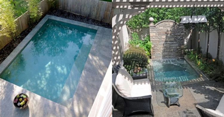 Contoh Denah Rumah Persegi Panjang 16 desain kolam renang ini cocok buat rumah berhalaman sempit