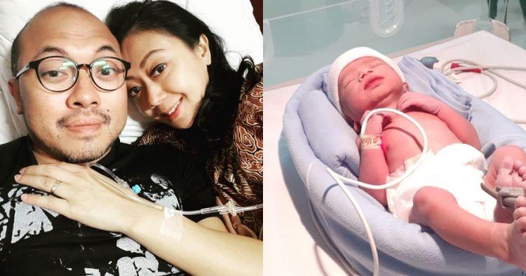 Kandungan sempat bermasalah, Asri Welas lahirkan anak ketiga