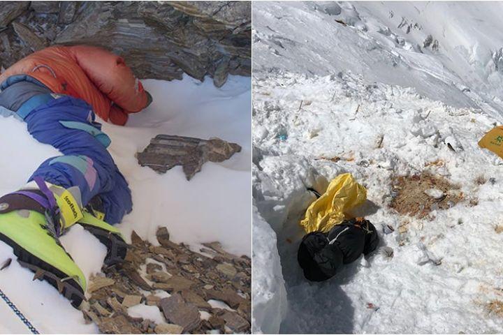 4 Penemuan seram di gunung es mencair, ada feses & jasad manusia