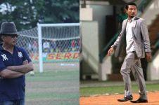 5 Gaya pelatih klub sepak bola Indonesia, ada yang pakai jas