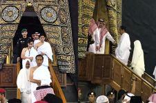 Cerita Jokowi saat salat di dalam Kabah, ucap syukur tak terhingga
