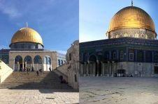 Detik-detik kebakaran di ruang salat Masjid Al Aqsa