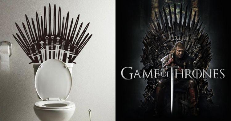 16 Perabot bertema Game of Thrones ini bikin rumah makin kece