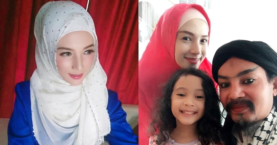 8 Pesona Benazir Endang, istri muda Limbad yang jarang tersorot