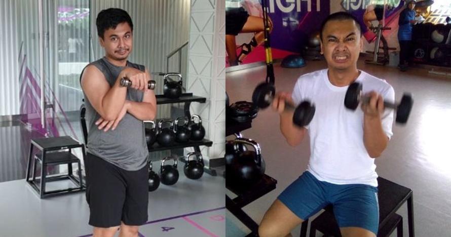 8 Aksi Raditya Dika saat workout ini berhasil bikin ngakak