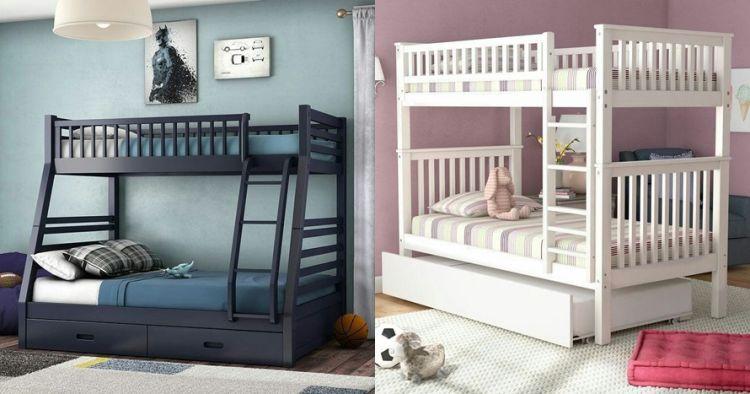 20 Desain Tempat Tidur Tingkat Simpel Dan Nyaman