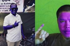 13 Kelakuan lucu pakai tinta pemilu ini bikin ketawa mules