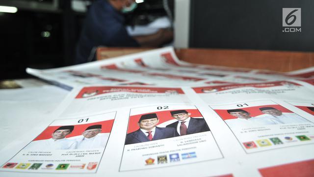 Jokowi-Ma'ruf unggul tipis di TPS tempat keluarga Gus Dur mencoblos