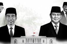 Suara 52,19%, quick count SMRC Jokowi 55,05% Prabowo 44,95%