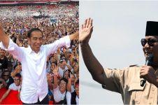 Suara 61,05%, quick count Charta Politika Jokowi 54,22% Prabowo 45,18%