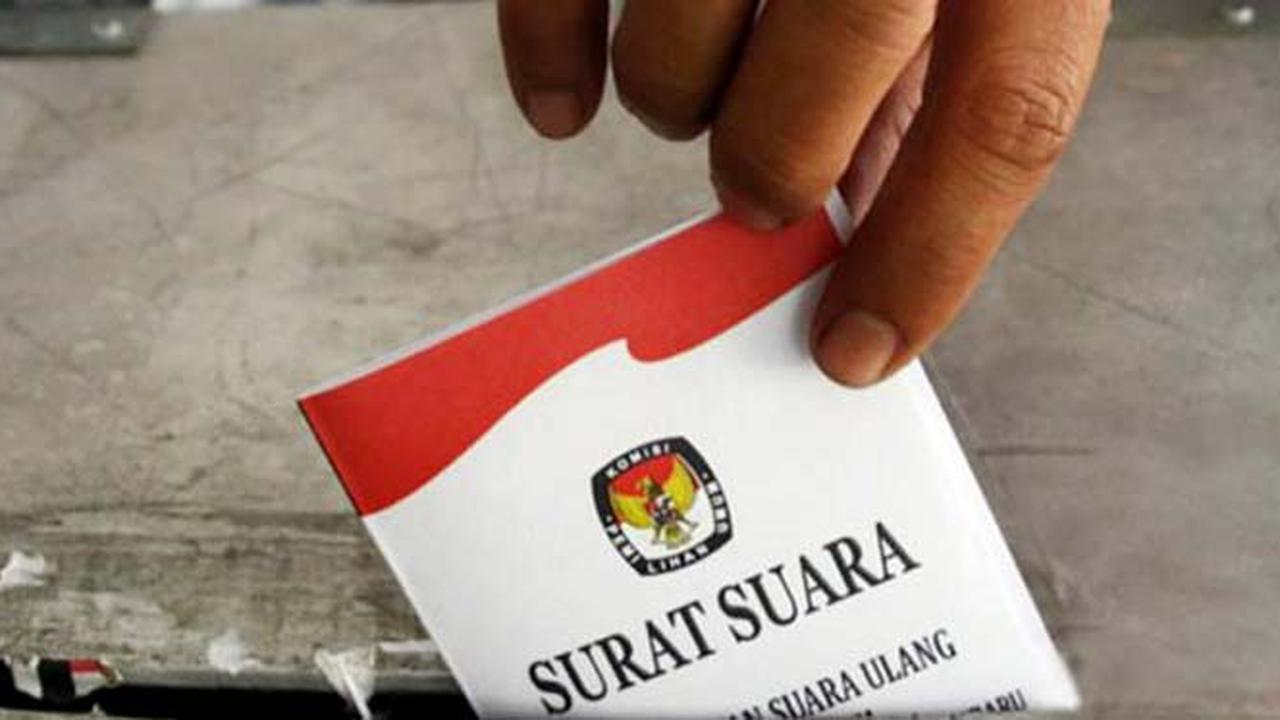 Pasangan Jokowi-Ma'ruf unggul tipis di TPS Ma'ruf Amin