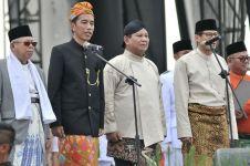 Suara 64,07%, quick count SMRC Jokowi 54,89% Prabowo 45,11%