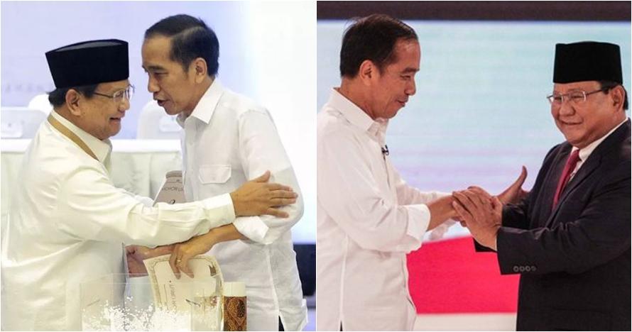 Suara 64,71%, quick count Indikator Jokowi 54,77% Prabowo 45,23%