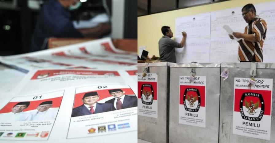 Ini suara yang diperoleh Prabowo-Sandi di TPS Kampung Jokowi