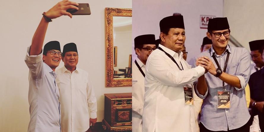 Prabowo-Sandi kalah di TPS Sandiaga Uno