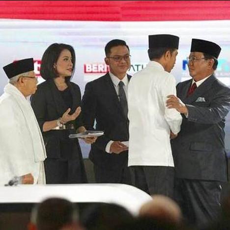Prabowo: Lembaga survei tertentu menggiring opini seolah kita kalah
