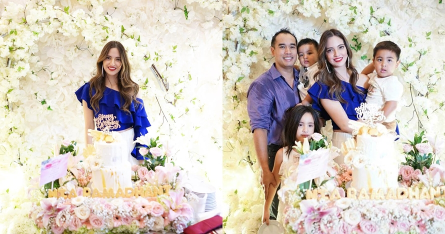 10 Momen ulang tahun Nia Ramadhani ke-29, penuh kejutan dari suami