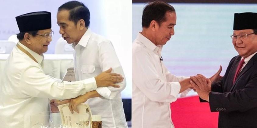Quick count Indikator 95,91%, Jokowi raih 53,91% Prabowo 46,09%
