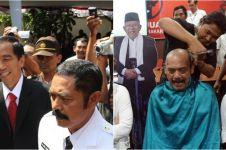 Jokowi unggul, wali kota Solo bersyukur dengan cukur gundul