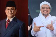 Prabowo telepon Habib Rizieq usai coblosan, ini yang dibicarakan