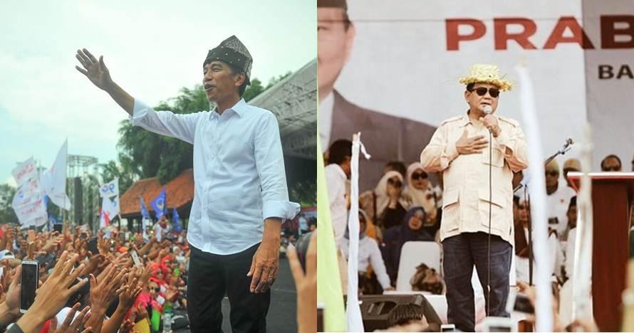 Ini perolehan sementara Jokowi & Prabowo versi real count KPU