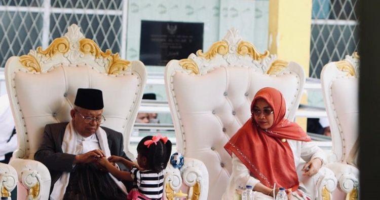 Jarang terekspos, ini 7 momen kebersamaan Ma'ruf Amin dan cucu