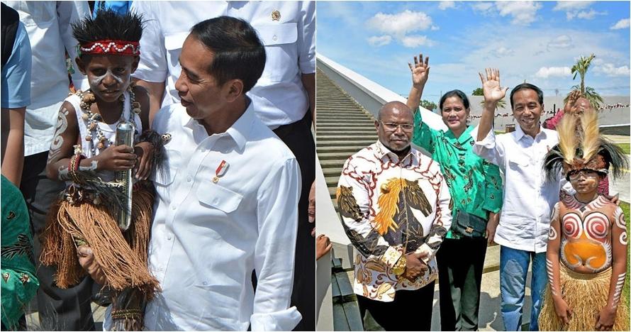 Jokowi unggul, kepala suku Jayapura ini beri kado tanah 10 hektare