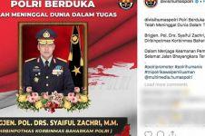 9 Polisi gugur saat tugas amankan Pemilu, salah satunya Brigjen