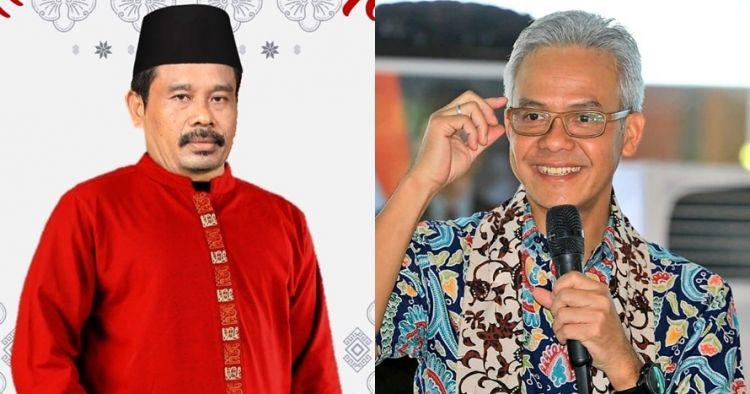 Postingan Ganjar Pranowo foto bareng presiden parodi bikin senyum