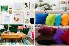10 Tips membuat ruangan di rumahmu makin berwarna