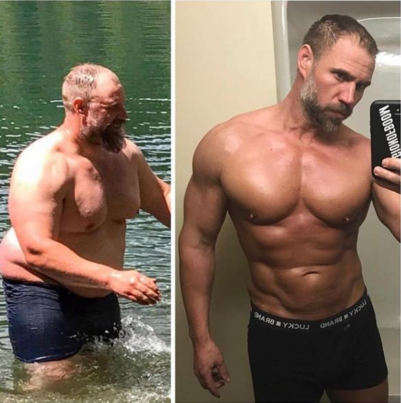 Perubahan pria 40 tahun  istimewa