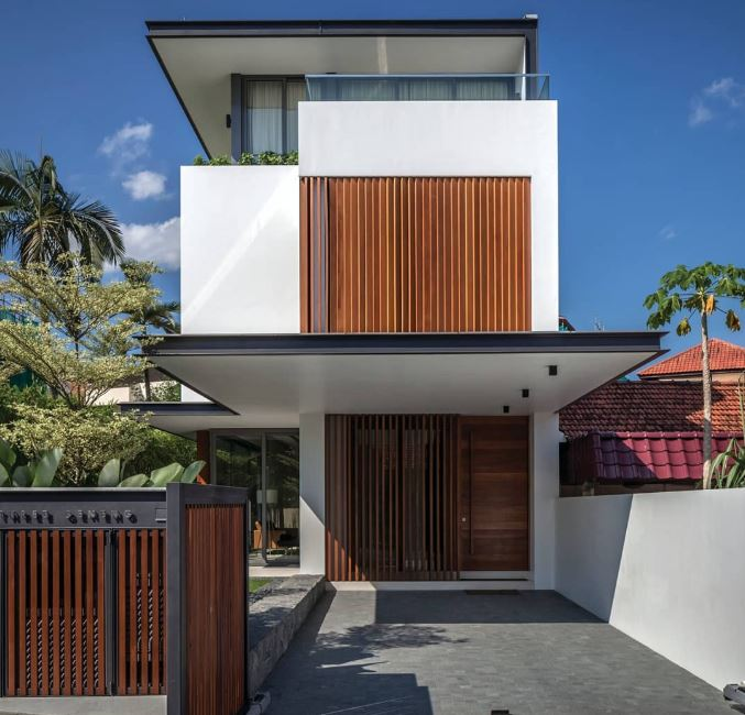 inspirasi pagar rumah minimalis © 2019 brilio.net