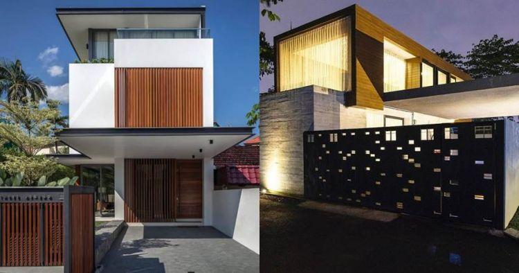 15 Inspirasi pagar untuk rumah minimalis, hunian tampak berkelas