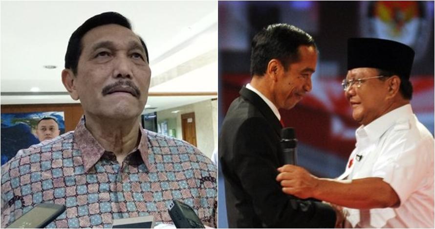 Jokowi utus Luhut Panjaitan temui Prabowo, ini alasannya